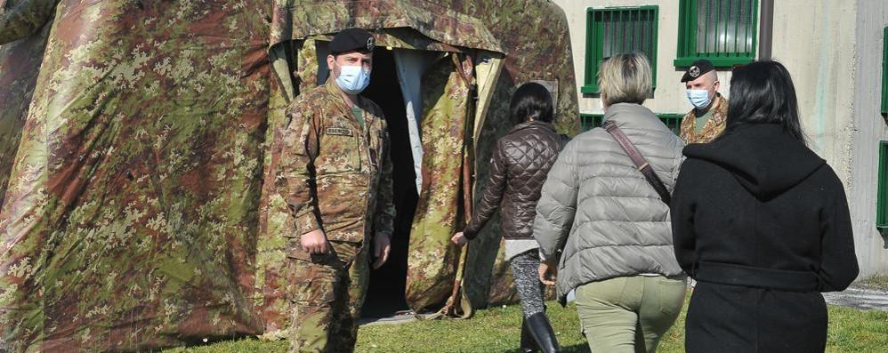 L'Esercito lascia Sant'Angelo: chiude l'hub per le vaccinazioni