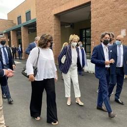 Letizia Moratti arriva a Lodi all'università e al Parco tecnologico