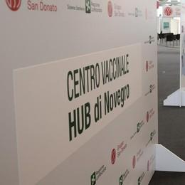 L'hub di Novegro sfonderà quota 316mila vaccini