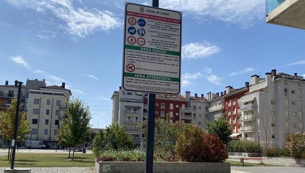 LODI Albarola, tolleranza zero: nuovi cartelli con i divieti