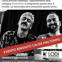 """Lodi blues festival, """"Gnola"""" e Nolli si esibiranno il 5 agosto"""