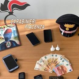 Maxi operazione antidroga nel Piacentino, un arresto anche a San Rocco