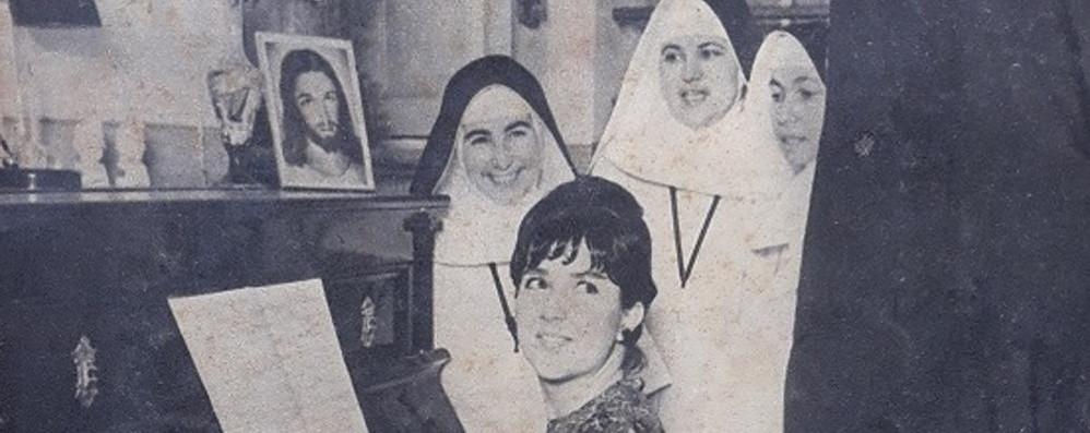 Melegnano, 57 anni fa Orietta Berti cantava in convento con le suore