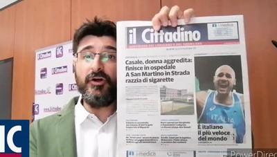 Olimpiadi, un regalo per i lettori. Le altre notizie del giorno www.ilcittadino.it