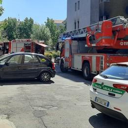 SAN GIULIANO Appartamento a fuoco, un'87enne riesce a mettersi in salvo