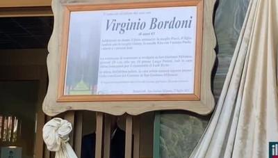 San Giuliano, l'addio a Bordoni