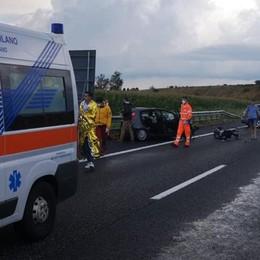 SANT'ANGELO Incidente in autostrada, paura per l'assessore Marika Bottazzi