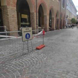 LODI Corso Vittorio Emanuele, i lavori verso la conclusione