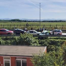 SAN ROCCO Grave incidente sulla via Emilia, cinque le persone ferite