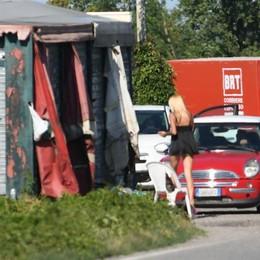 COLTURANO Guard-rail lungo la Sordio-Bettola contro la prostituzione