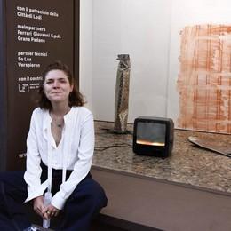 Con Vittoria Viale l'arte di concetto va in mostra a Lodi