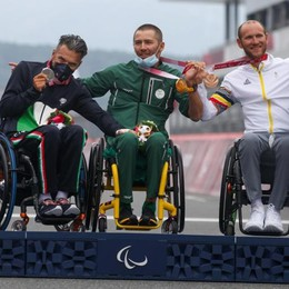 Fabrizio Cornegliani di Valera Fratta è medaglia d'argento alle Paralimpiadi di Tokyo