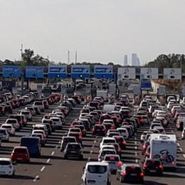 Ultimo week end di agosto, traffico in A1 e rallentamenti alle barriere