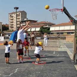 """A Lodi è un successo """"Basket in piazza"""""""