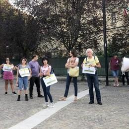 """LODI I """"no-green pass"""" traslocano in piazza Castello"""