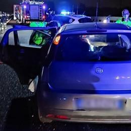Incastrata nell'auto dopo l'incidente, paura per una 46enne in autostrada a Lodivecchio