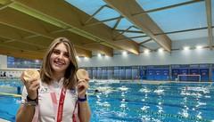 Boggioni, la passione per il nuoto e la gioia delle Paralimpiadi