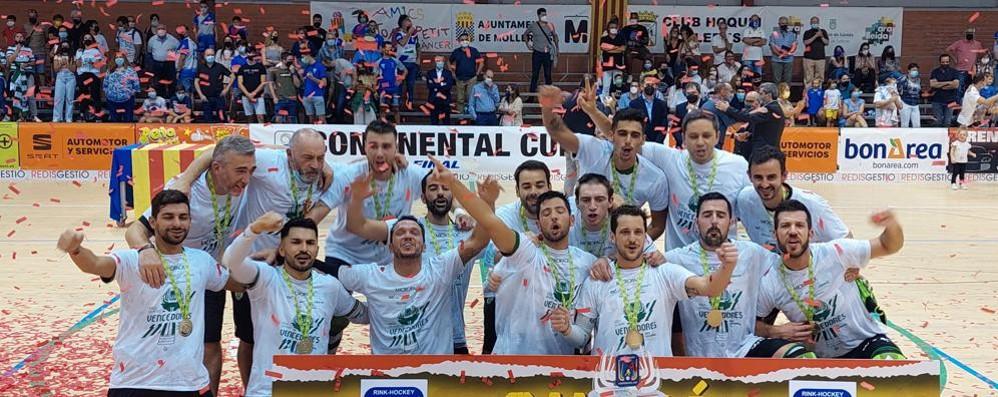 Hockey, allo Sporting Lisbona la Supercoppa Europea