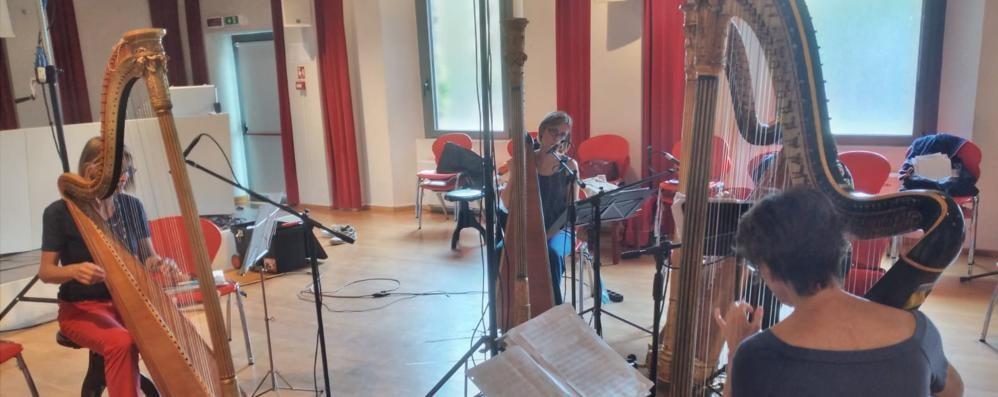 La magia dell'arpa del quintetto Erard. L'invito ai concerti della Lira di Orfeo