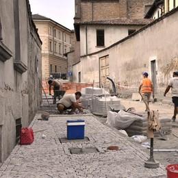 Lodi, pronto il maxi marciapiede in via Serravalle