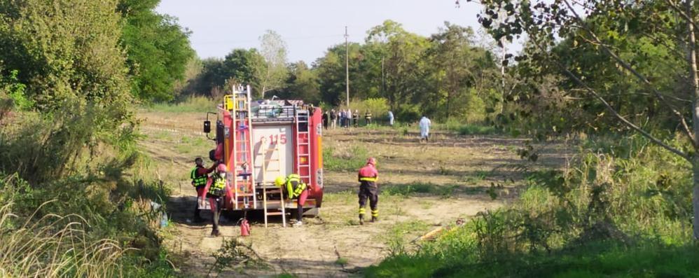 San Martino, dopo 4 giorni di ricerche recuperato un corpo nella Muzza