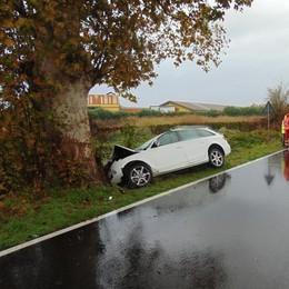 San Martino, incidente sulla via Emilia: arriva l'elisoccorso