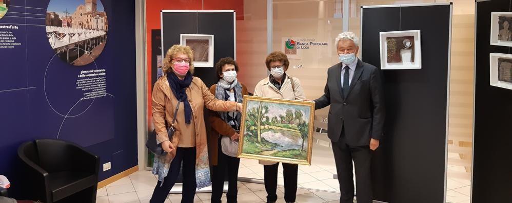 Un'opera di Mario Ottobelli donata alla Fondazione Bpl