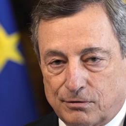 Draghi: «Grazie ai vaccini la fine della pandemia è ormai in vista»