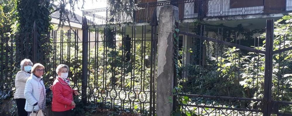 MELEGNANO Una giungla nella villa abbandonata da 30 anni, «manca soltanto Tarzan»