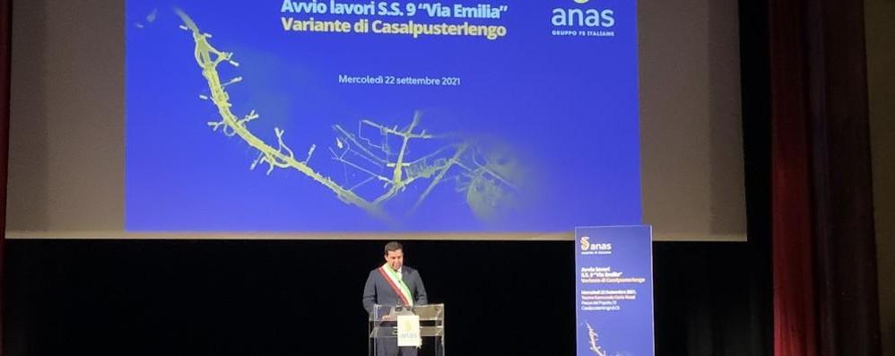 CASALE L'Anas dà il via ufficiale ai lavori per la nuova tangenziale VIDEO