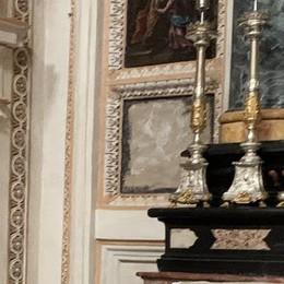 Casale, rubato in chiesa un antico dipinto dell'Annunciazione