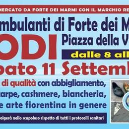 """""""Gli Ambulanti di Forte dei Marmi®"""" a LODI sabato 11 settembre"""