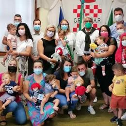 GRAFFIGNANA Le pigotte dell'Unicef per i nuovi nati