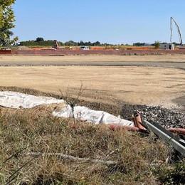 CASALPUSTERLENGO Strada spianata per la tangenziale: il cantiere delinea il nuovo tracciato