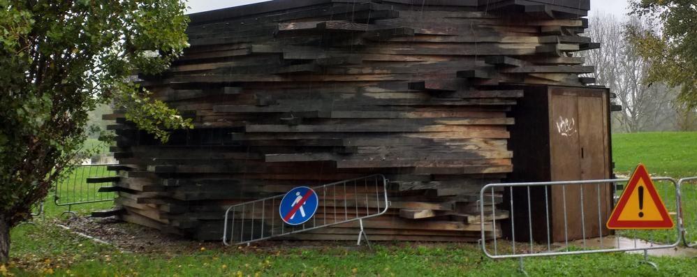 LODI Bar del Paesaggio, demolizioni solo annunciate: rischia anche lui di finire in cenere