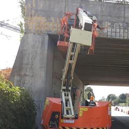 Riozzo, scattato il cantiere per i lavori al ponte sulla Santangiolina